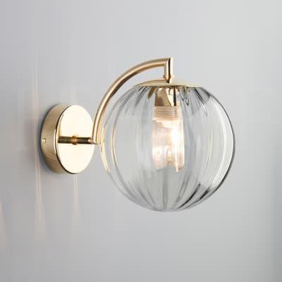 WL401 Paola Wall Light Clear BPL S