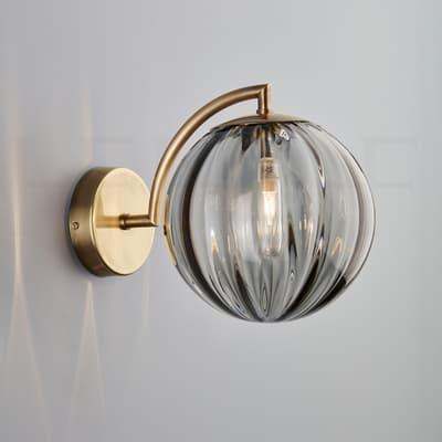 Wl401 Paola Wall Light Grigio Ab S