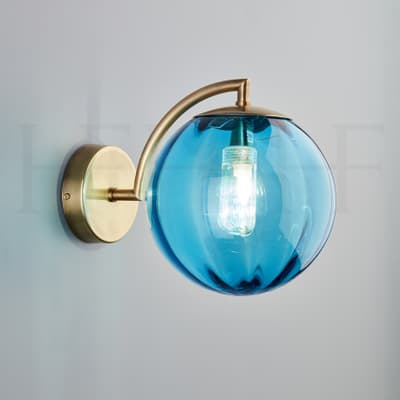 Wl401 Paola Wall Light Turchese Ab S