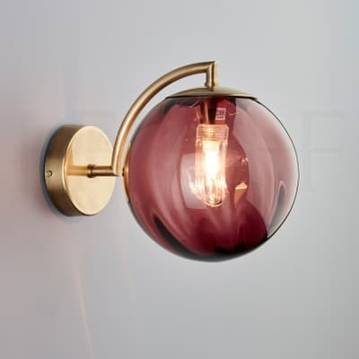 Wl401 Paola Wall Light Viola Ab S