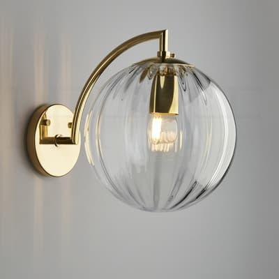 Wl401 L Paola Wall Light Clear S
