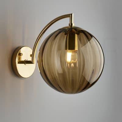 Wl401 L Paola Wall Light Marrone S
