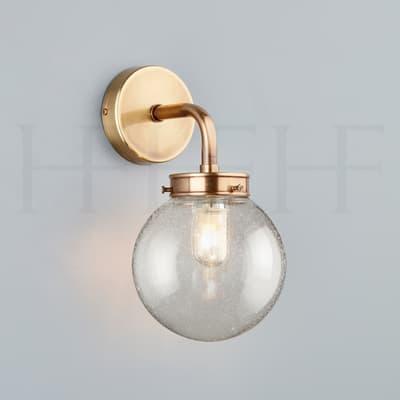 Wl426 Mini Globe Wall Light Seeded Hf Gallery Ab S