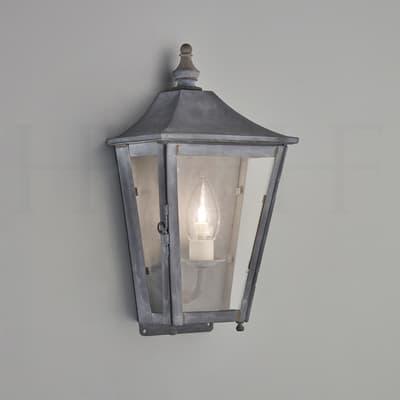 Wl430 Athena Wall Lantern Zinc S