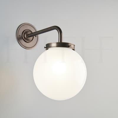 Wl44 Opal Globe Wall Light S