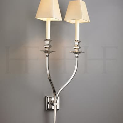 Wl59 L Starback Wall Light Double Arm Large S
