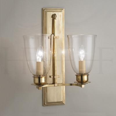 Albert Wall Light, double
