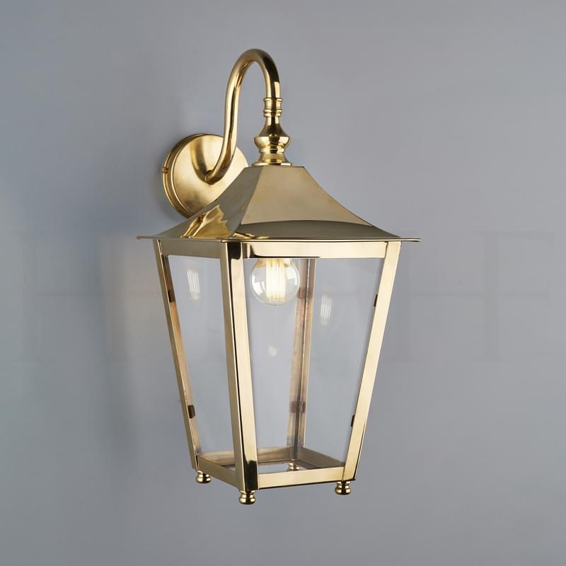 La413 Athena Hanging Lantern On Bracket Ab L