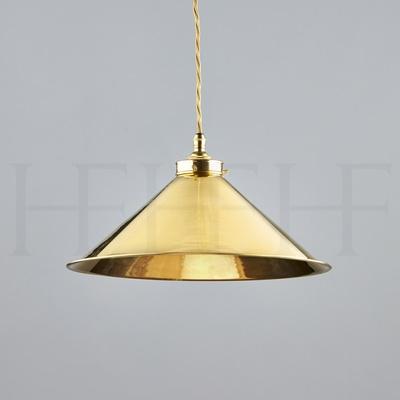 Brass Coolie Pendant
