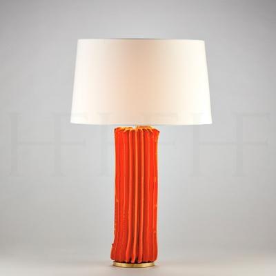 Cactus Table Lamp, Large, Arancio