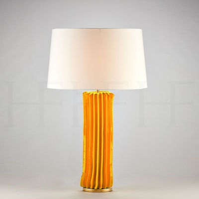 Cactus Table Lamp, Large, Giallo