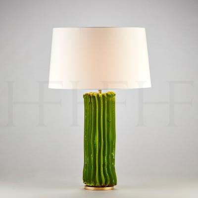 Cactus Table Lamp, Large, Verde
