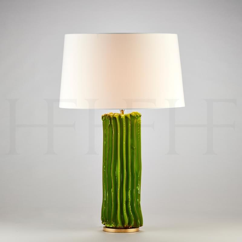Tl172 Cactus Table Lamp Verde L