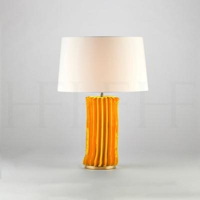 Cactus Table Lamp, Small, Giallo