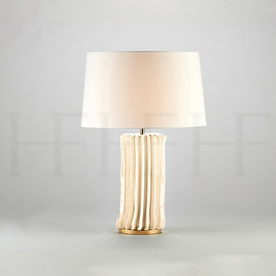 Cactus Table Lamp, Small, Bianco