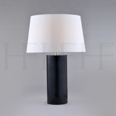 Charcoal Vellum Table Lamp