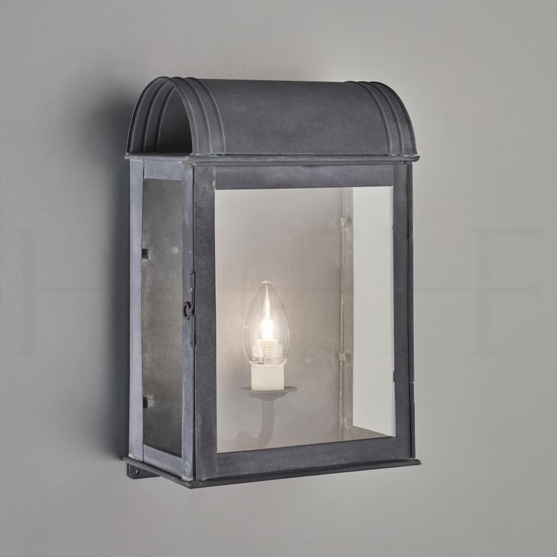 Wl334 L Clio Wall Lantern Zinc L