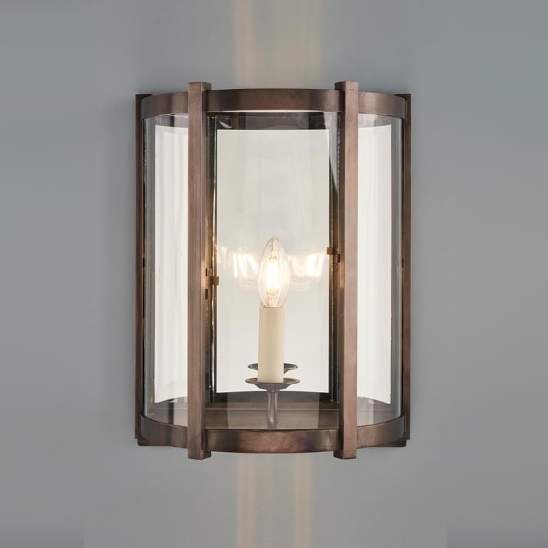 Wl20 Finn Wall Lantern Bz L