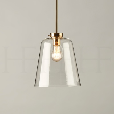 Glass Bell Shade, Large