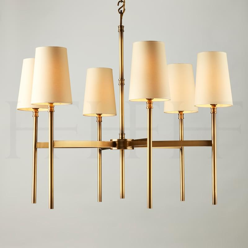 Ch72 Guinevere Chandelier Ab L