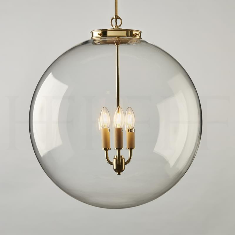 PL85 XL Hector Glass Globe Extra Large AB L