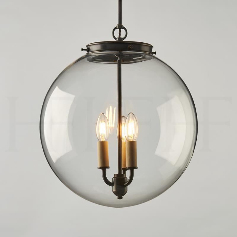 PL85 L Hector Glass Globe Large L