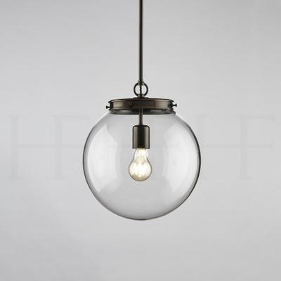 Hector Glass Globe, Medium, Single Fitting