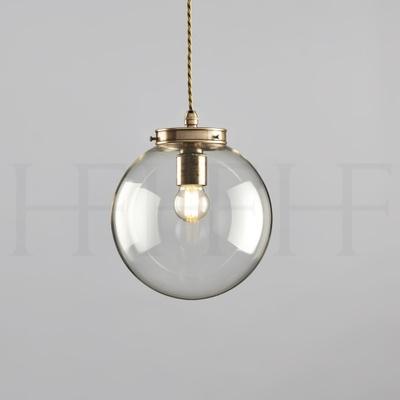 Hector Mini Globe, Clear Glass