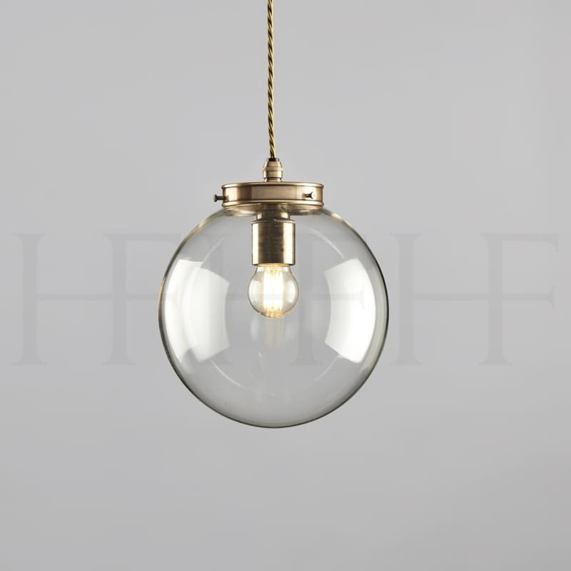 Pl142 Hector Mini Globe Hf Gallery Antique Brass L