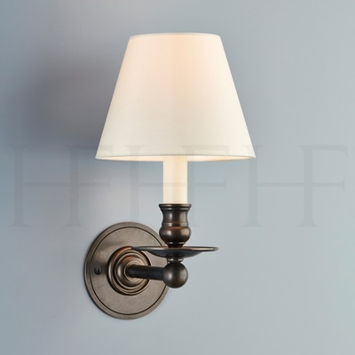 Hector Single Straight Arm Wall Light, Large