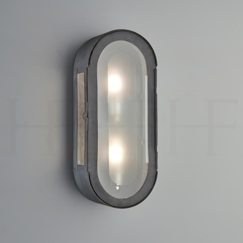 WL333 Hermes Wall Lantern ZN L