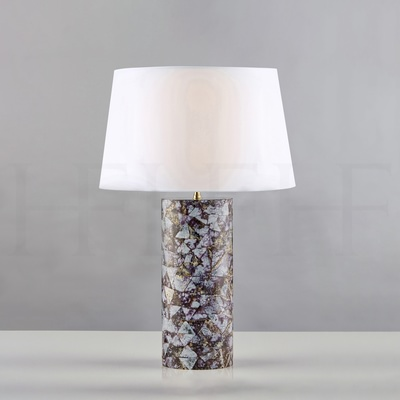 Lilac Cowrie Table Lamp