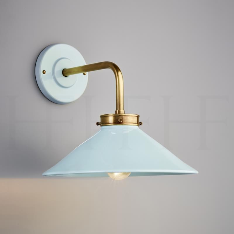 Wl301 Aqua Antique Brass L