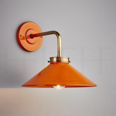 Lucia L Bracket Wall Light Arancio