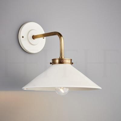 Lucia L Bracket Wall Light Bianco