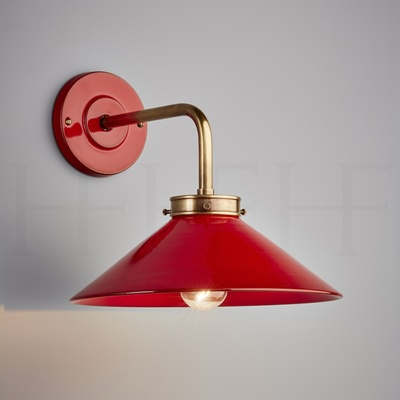 Lucia L Bracket Wall Light Rosso
