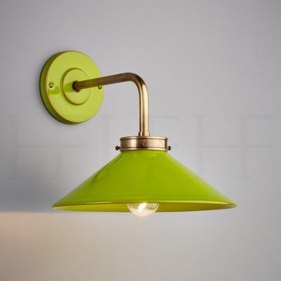 Lucia L Bracket Wall Light Verde Selenio