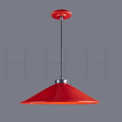 Lucia Pendant, Extra Large, Rosso