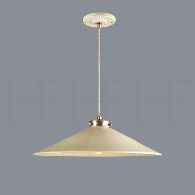 Lucia Pendant, Extra Large, Taupe