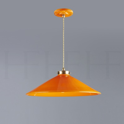 Lucia Pendant, Medium, Arancio