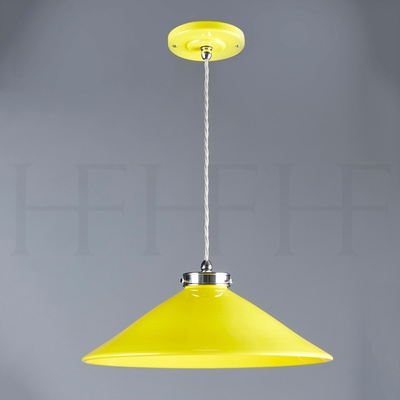 Lucia Pendant, Medium, Giallo