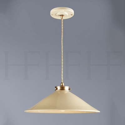 Lucia Pendant, Medium, Taupe