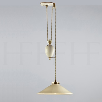 Lucia Rise and Fall Pendant Taupe