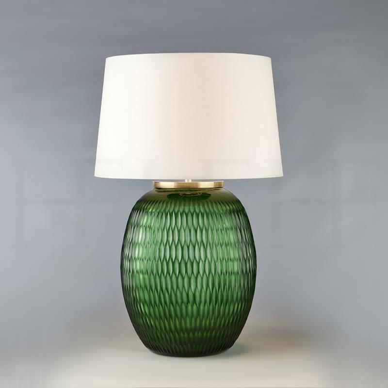 Tl166 L Mala Table Lamp Large Emerald Diamond L