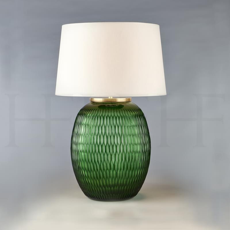 Tl166 M Mala Table Lamp Large Emerald Diamond L