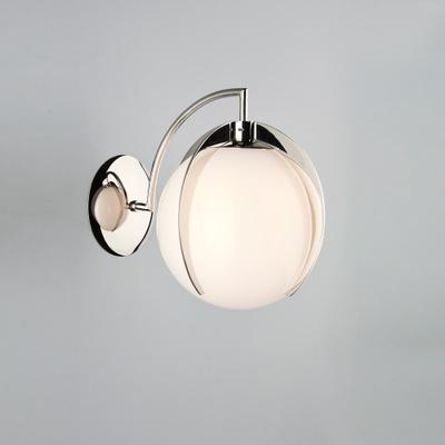 Opal Claw Globe Wall Light