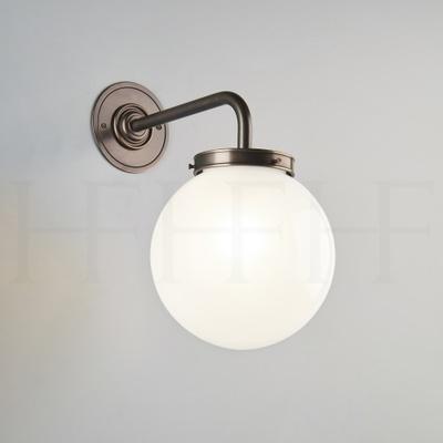 Opal Globe Wall Light