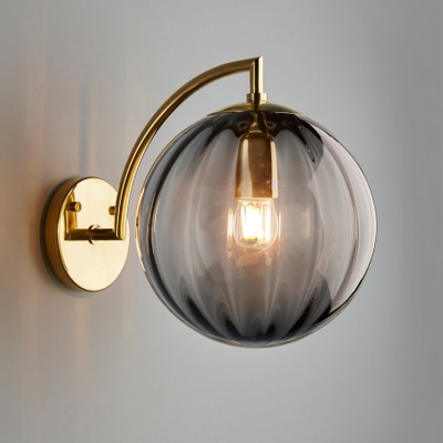 Paola Wall Light, Large, Grigio