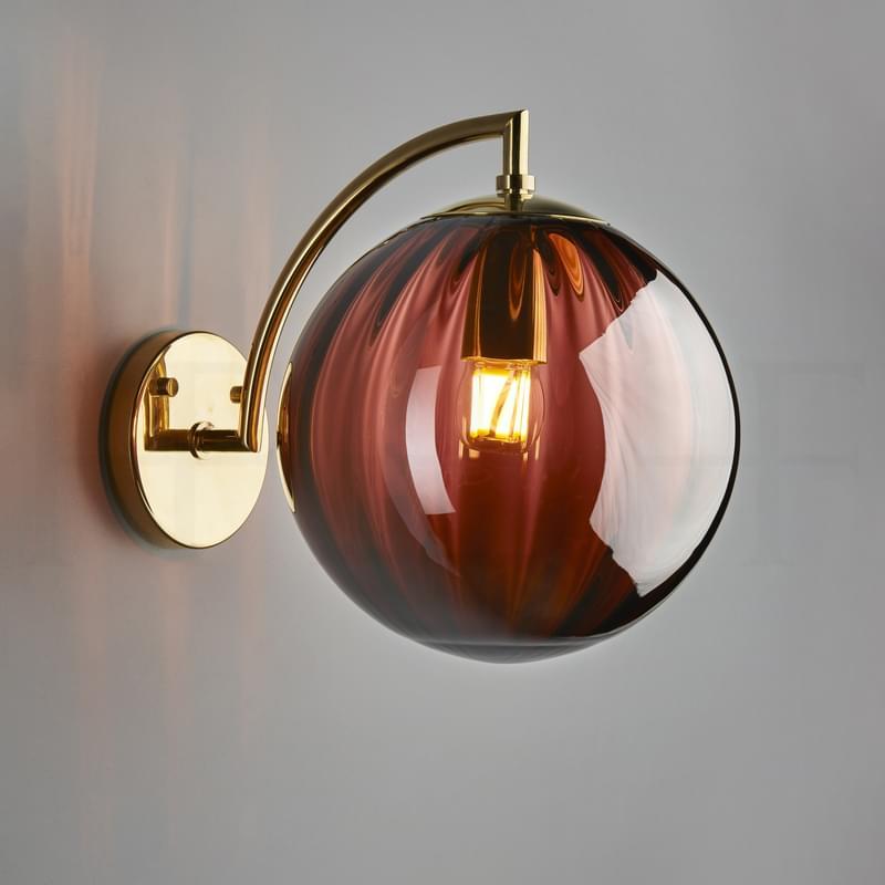 Wl401 L Paola Wall Light Viola L