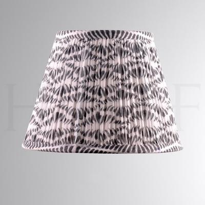 Samarkand Grey & White Cotton Shade